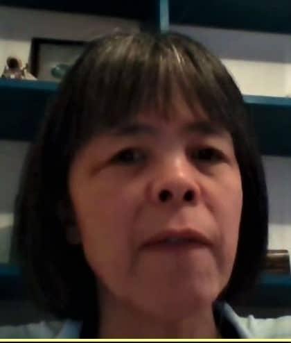 ▲전 유엔장애인권리위원회 실비아 퀀(Silvia Quan) 부위원장(사진=줌 캡처)
