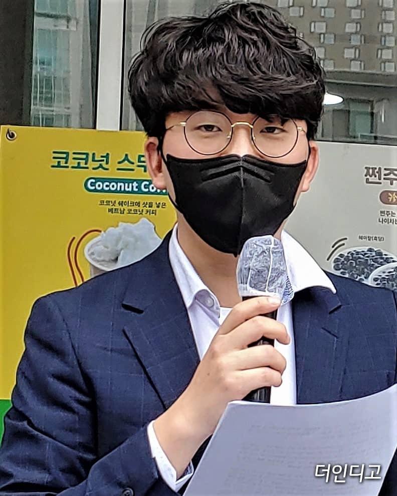 ▲정제형 재단법인 동천 변호사가 발언하고 있다. ⓒ더인디고