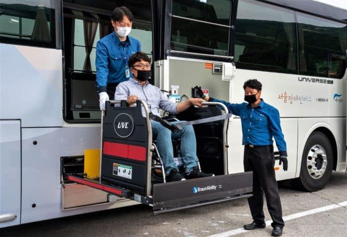 ▲서울장애인버스 /사진=서울시