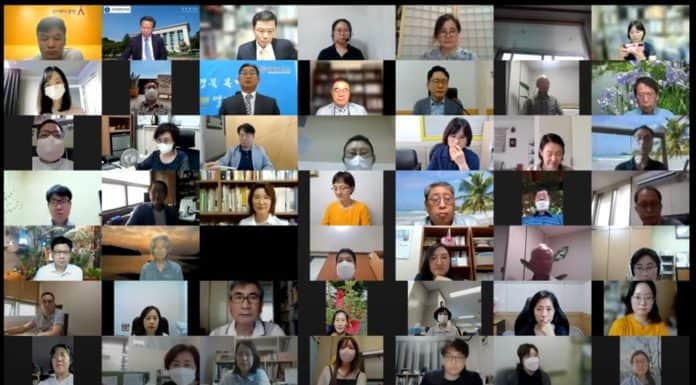 지난 16일 '사회복지법인 운영 효율화 방안'을 주제로 한국복지경영학회 하계 학술대회가 비대면으로 열렸다./사진=유튜브 화면 캡쳐