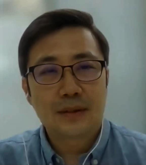 ▲권재현 한국장총 정책홍보국장. 사진=김예지 의원 유튜브 캡처